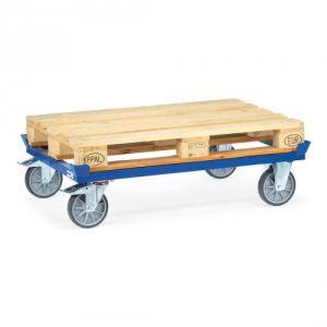 Paletten-Fahrgestell mit TPE-Bereifung - Tragkraft 750 kg