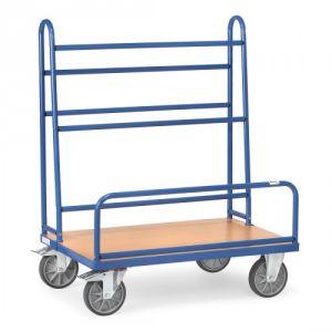 Plattenwagen mit festen Rohrbügeln  - Tragkraft 600 kg