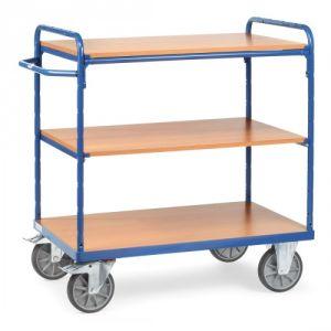Etagenwagen mit 3 Böden - Tragkraft 500 / 600 kg