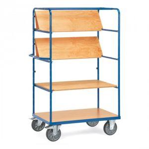Etagenwagen mit faltbaren Böden   - Tragkraft 600 kg