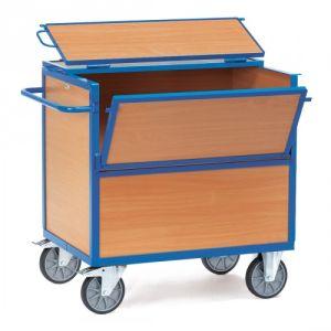 Holzkastenwagen mit Deckel  - Tragkraft 600 kg
