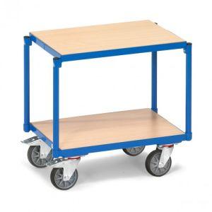 Etagenroller mit 2 Holzbodenplatten  - Tragkraft 250 kg