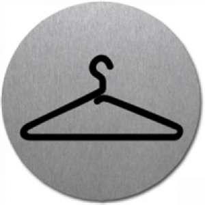 Symbol - Garderobe (rund) Motiv 2