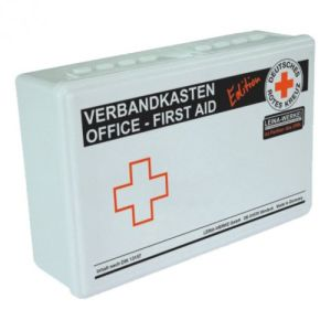 Betriebsverbandkasten Office - First Aid - DRK Edition