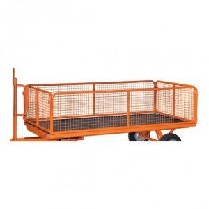 4 Drahtgitterwände für Industrie-Anhänger und Handpritschenwagen