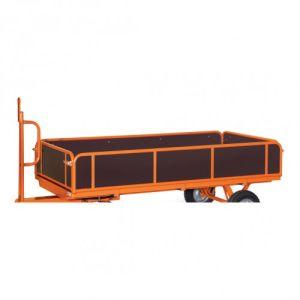 4 Bordwände für Industrie-Anhänger