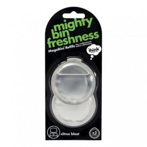 Nachfüllset für Geruchsneutralisierer Think MegaBini, 2er Pack