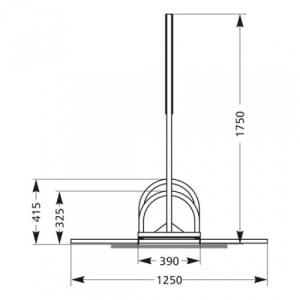 Werbe-Fahrradständer BW 5000