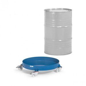 Fassroller mit Stahlblechwanne - Tragkraft 250 kg
