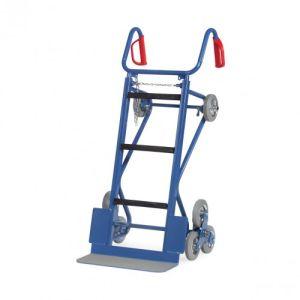 Gerätekarre mit Treppensternen und Stützrädern - Tragkraft 400 kg