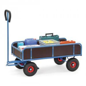 Handwagen 2-Achser mit 4 Wänden  - Tragkraft 400 kg