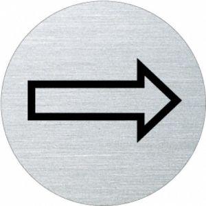 Piktogramm - Richtungspfeil (rund)