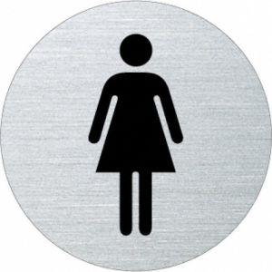 Piktogramm - Damen (rund)