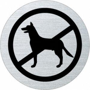 Piktogramm - Hunde verboten (Motiv Schäferhund)