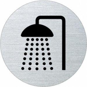 Piktogramm - Dusche (rund) Motiv 2