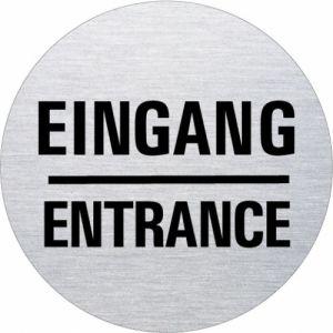 Textschild - Eingang/Entrance