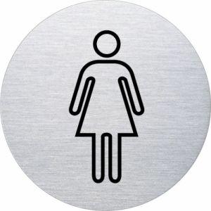 Piktogramm - Damen (rund, Motiv 2)