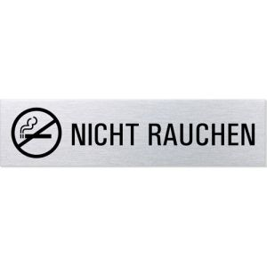 Piktogramm/Textschild - Nicht rauchen (Motiv 2)