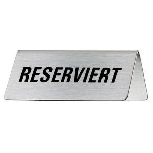 Tischschild - Reserviert