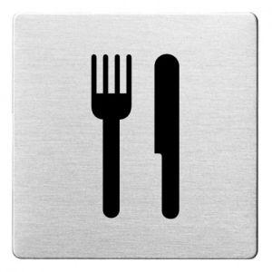 Piktogramm - Essen/Speisesaal (ecken abgerundet)