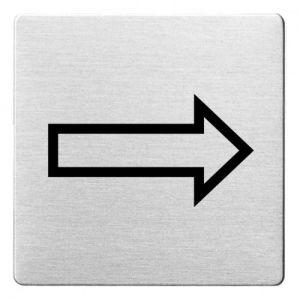 Piktogramm - Richtungspfeil (ecken abgerundet)