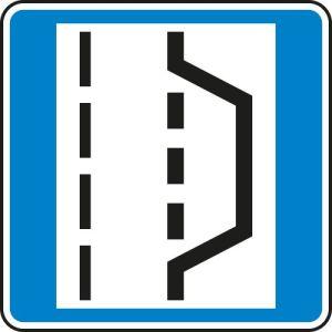 Autobahn Hinweisschild Nothalte und Pannenbucht VZ 328