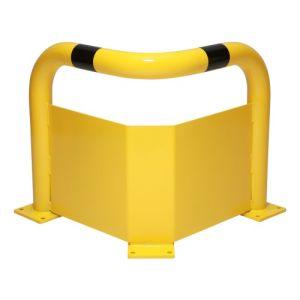 Eckschutz-Bügel WACHTWERK X®aus Stahl mit Unterfahrschutz - Wachtwerk X®