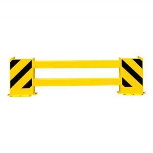 Rammschutzplanke B WACHTWERK X® kurz - schwarz gelb