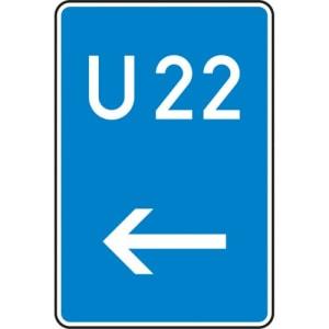 VZ 460-11 Bedarfsumleitung Schild gemäß StVO