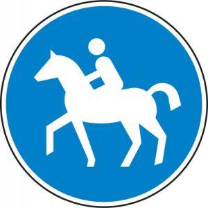 VZ 238 - Reitweg Verkehrsschild gemäß StVO