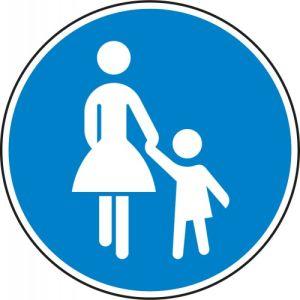VZ 239 Verkehrszeichen Gehweg Schild