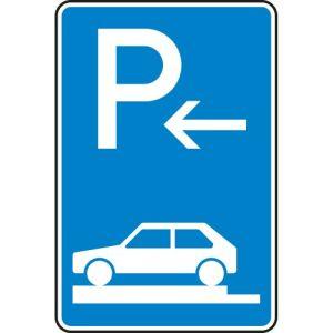 Verkehrszeichen 315-82 Parken auf Gehwegen Schild (Ende)