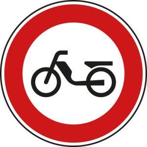 VZ 257-50 | Verkehrsschild Verbot für Mofas