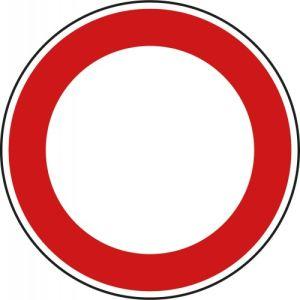 VZ 250 - Verkehrsschild Verbot für Fahrzeuge aller Art