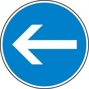 VZ 211-10 Verkehrsschild Fahrtrichtung hier links