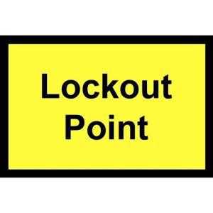 Lockout Point - Sperrpunkt
