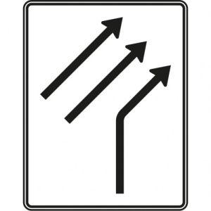 Zusammenführungstafel Verkehrszeichen 521-21