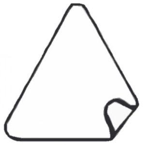 Verkehrsschilder-Aukleber Typ Dreiecke