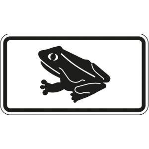 Krötenwanderung - Piktogramm