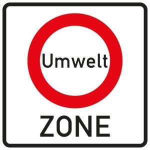 Verkehrsschild Umweltzone - Anfang - VZ 270.1