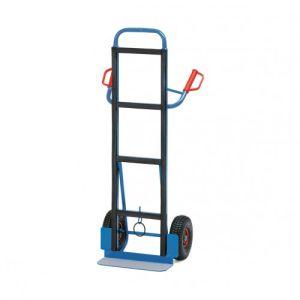 Gerätekarre  mit Luftbereifung und hohem Gestell - Tragkraft 350 kg