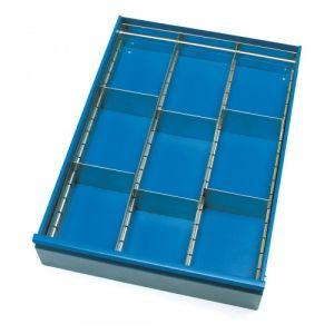 Schubladen-Einteilungs-Set für Tisch- und Werkstattwagen