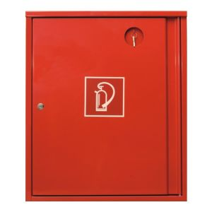 Aufputzdoppelkasten für Feuerlöscher 2 x 12 kg