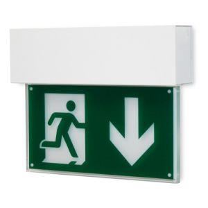 Rettungszeichenleuchte FRANKFURT (Wandaufbau), 7L-Schutzlicht