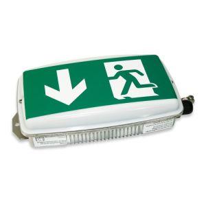 EX-Notleuchte BRÜSSEL (Wandaufbau) zur Rettungswegbeleuchtung, 7L-Schutzlicht