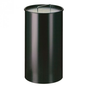 Standascher mit Ascherschale und Sieb, rund - Inhalt 50 Liter