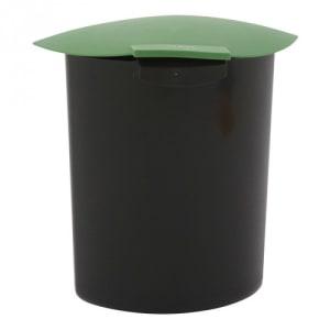 Einsatz für Recycling Papierkorb mit Deckel, oval - Inhalt 6 Liter