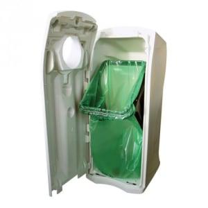 Wertstoffcontainer MAXI ENVIROBIN mit Flaschenöffnung - Inhalt 140 Liter