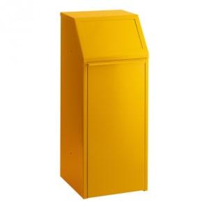 Wertstoffsammler mit Druckdeckel - Inhalt 70 Liter
