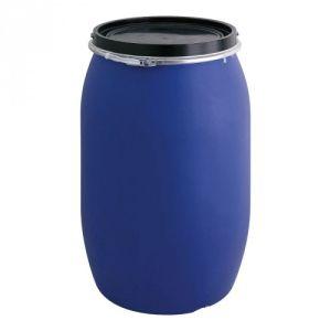 Tonne mit Deckel und Klemmband - Inhalt 120 / 220 Liter